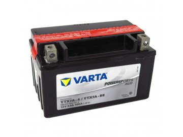 Motobatérie VARTA YTX7A-BS, 6Ah, 12V