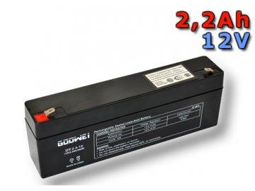 Staniční (záložní) baterie GOOWEI ENERGY OT2.2-12, 2,2Ah,12V ( VRLA )