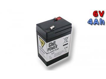 Lithium Yttrium - LiFePO4/LiFeYPO4 akumulátor 6V, 4Ah