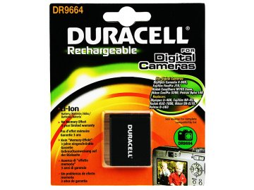 Baterie do fotoaparátu Sanyo VPC-T850/VPC-E1600/VPC-T1060/VPC-T700T, 630mAh, 3.7V, DR9664, blistr