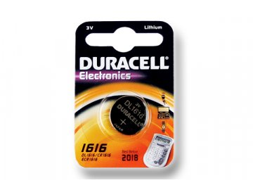 DURACELL knoflíkový článek 3V, CR1616 (DL1616)