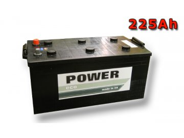 Autobaterie ECO POWER 225 Ah 12V