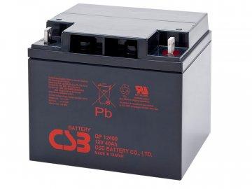 Batéria CSB GP12400, 12V, 40Ah