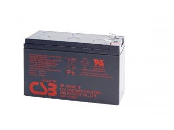 Batéria CSB HR1234W F2, 12V, 9Ah