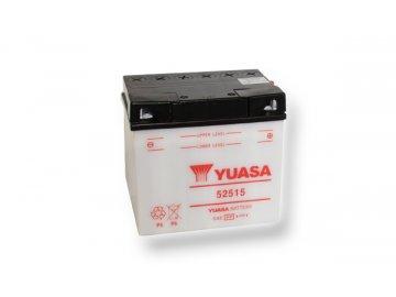Motobatéria YUASA (originál) 52515, 12V,  25Ah  dodávané vrátane balenia akumulátorovej kyseliny