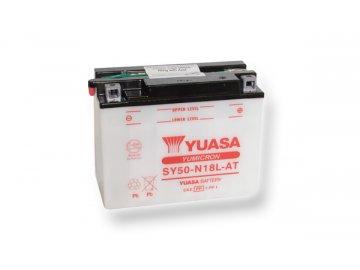 Motobatéria YUASA (originál) SY50-N18L-AT, 12V,  20Ah  dodávané vrátane balenia akumulátorovej kyseliny
