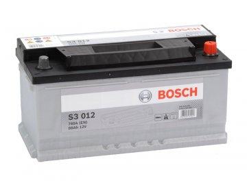 Autobaterie BOSCH S3 012, 88Ah, 12V (0 092 S30 120)