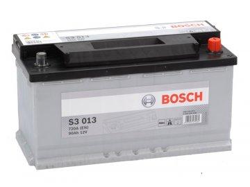 Autobaterie BOSCH S3 013, 90Ah, 12V (0 092 S30 130)