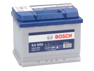 Autobatéria BOSCH S4 005, 60Ah, 12V (0 092 S40 050)