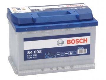 Autobatéria BOSCH S4 008, 74Ah, 12V (0 092 S40 080)