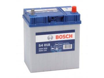 Autobaterie BOSCH S4 018, 40Ah, 12V (0 092 S40 180)