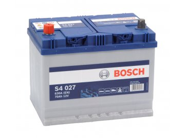 Autobaterie BOSCH S4 027, 70Ah, 12V (0 092 S40 270)