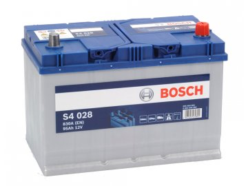 Autobaterie BOSCH S4 028, 95Ah, 12V (0 092 S40 280)