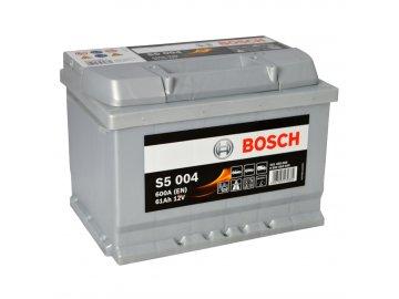 Autobaterie BOSCH S5 004, 61Ah, 12V (0 092 S50 040)