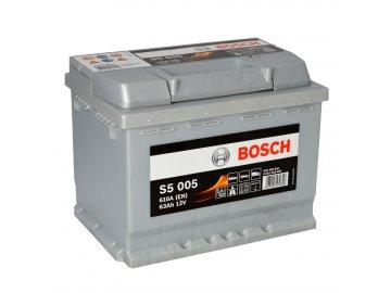 Autobaterie BOSCH S5 005, 63Ah, 12V (0 092 S50 050)