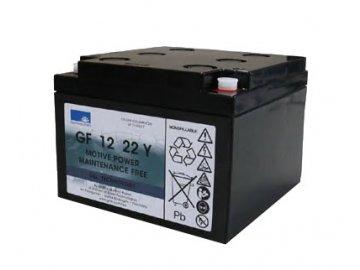 Batéria EXIDE SONNENSCHEIN GF 12 022 Y F, 12V, C5/22,2Ah, C20/24Ah