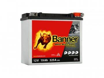 Motobatéria Banner Bike Bull AGM PRO ETX 16L, 19Ah, 12V (YB16L-B)