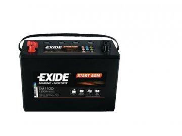 Trakčná batéria EXIDE START AGM 100Ah, 12V, EM1100 (EM 1100)