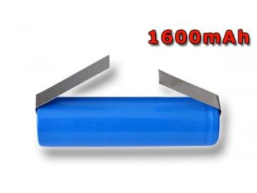 Nabíjecí průmyslový článek s bodovacími výstupy, baterie LiMn2O4 / LiNiMnCoO2 3,7V 1600mAh