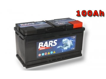 Autobatérie BARS 100Ah, 12V, 800A (352x175x190mm), bezúdržbový