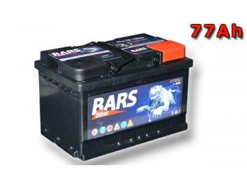 Autobatérie BARS 77Ah, 12V, 700A (276x175x175mm), bezúdržbový