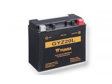 Motobatéria YUASA (originál) GYZ20L, 12V, 20Ah