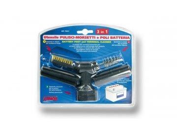 Čistič kontaktů baterie 3v1
