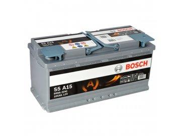 Autobatéria BOSCH S5A 150, 105Ah, 12V, AGM (0 092 S5A 150)