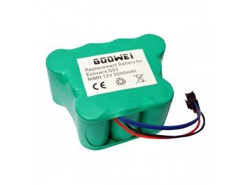 Goowei Baterie pro vysavač Ecovacs D83, 3500mAh, 12V