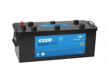 Autobaterie EXIDE StartPRO 135Ah, 12V, EG1353
