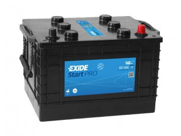 Autobaterie EXIDE StartPRO 145Ah, 12V, EG145A