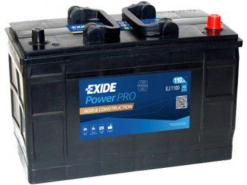 Autobaterie EXIDE PowerPRO Agri & Construction 110Ah, 12V, EJ1100