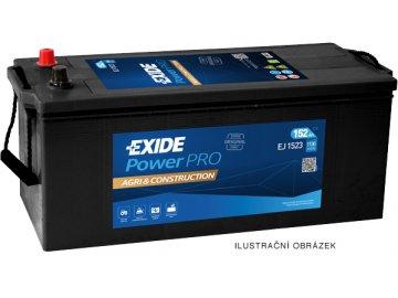 Autobaterie EXIDE PowerPRO Agri & Construction 135Ah, 12V, EJ1355