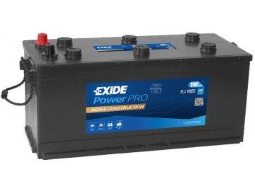 Autobaterie EXIDE PowerPRO Agri & Construction 180Ah, 12V, EJ1805