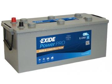 Autobaterie EXIDE PowerPRO Agri & Construction 235Ah, 12V, EJ2353