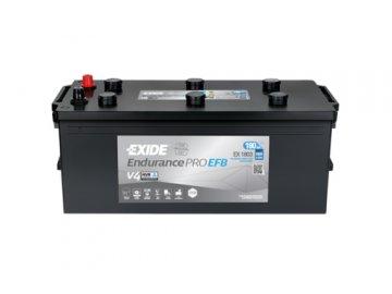 Autobaterie EXIDE EndurancePRO EFB 185Ah, 12V, EX1803