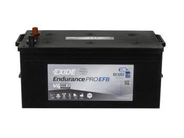 Autobaterie EXIDE EndurancePRO EFB 225Ah, 12V, EX2253