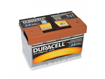 Autobaterie Duracell Extreme EFB DE 70 EFB, 70Ah, 12V ( DE70EFB )