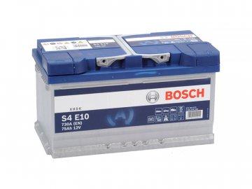 Autobatéria BOSCH S4 E10, 75Ah, 12V, EFB (0 092 S4E 100)