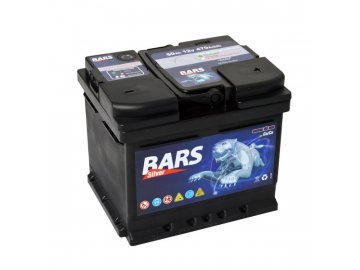 Autobatérie BARS 50Ah, 12V, 470A (207x175x175mm), bezúdržbový
