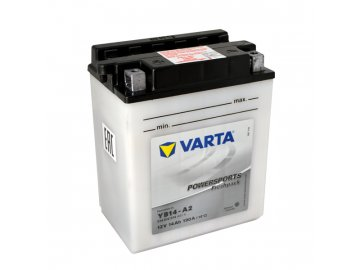 Motobatéria VARTA YB14A-A2, 12V,  14Ah