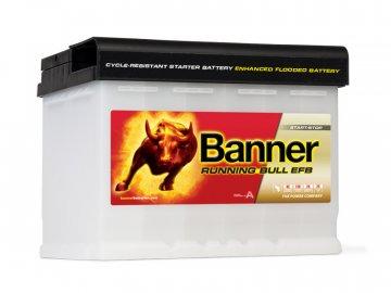 Autobaterie Banner Running Bull EFB 560 11, 60Ah, 12V ( 56011 )