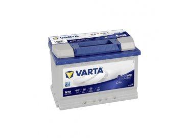Autobaterie VARTA Blue Dynamic EFB 70Ah, 12V, N70