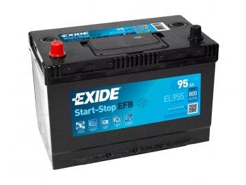 Autobatéria EXIDE START-STOP EFB 95Ah, 12V, EL955