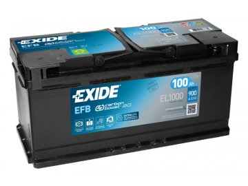 Autobatéria EXIDE START-STOP EFB 100Ah, 12V, EL1000