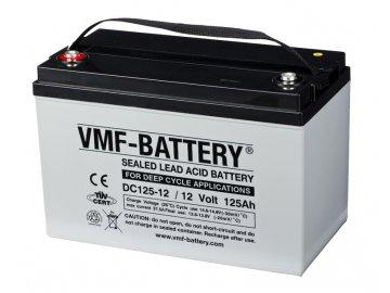 Trakční (GEL) baterie VMF DC125-12, 12V, 125Ah DEEP CYCLE