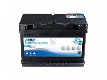 Batéria EXIDE DUAL EFB 100Ah, 12V, EZ850 (EZ 850)