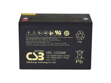 CSB Batéria HRL12330W FR, 12V, 101Ah