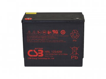 CSB Batéria HRL12540W FR, 12V, 134Ah