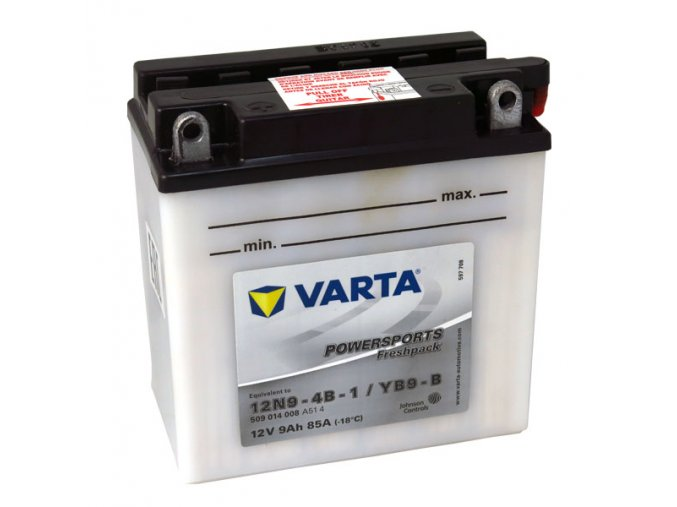 Motobatérie VARTA 12N9-4B-1 / YB9-B, 9Ah, 12V